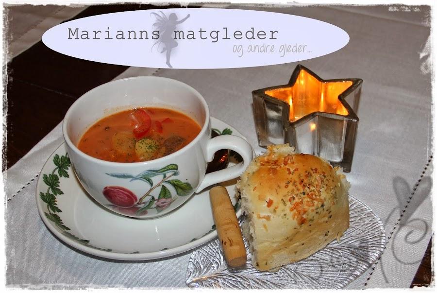 Marianns matgleder og andre gleder ...
