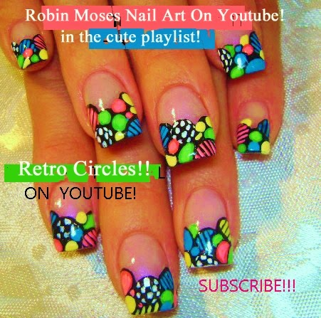 "robin moses nail art ""summer nails"" ""neon flower nails"