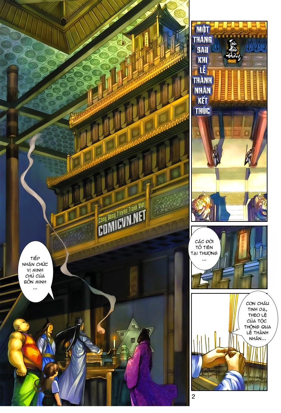 Thần Binh Tiền Truyện 4 - Huyền Thiên Tà Đế chap 10 - Trang 2