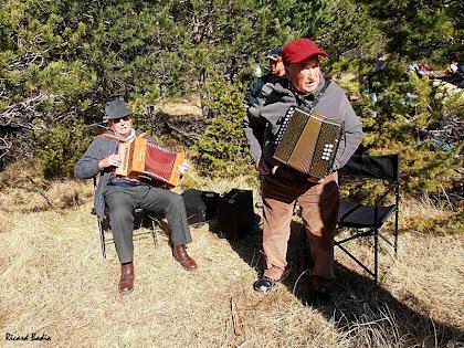 El Nogueres i el Borda amb els seus acordions. Autor: Ricard Badia