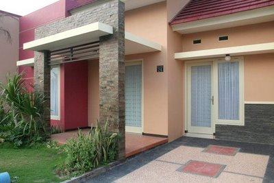 teras rumah minimalis asri dan nyaman