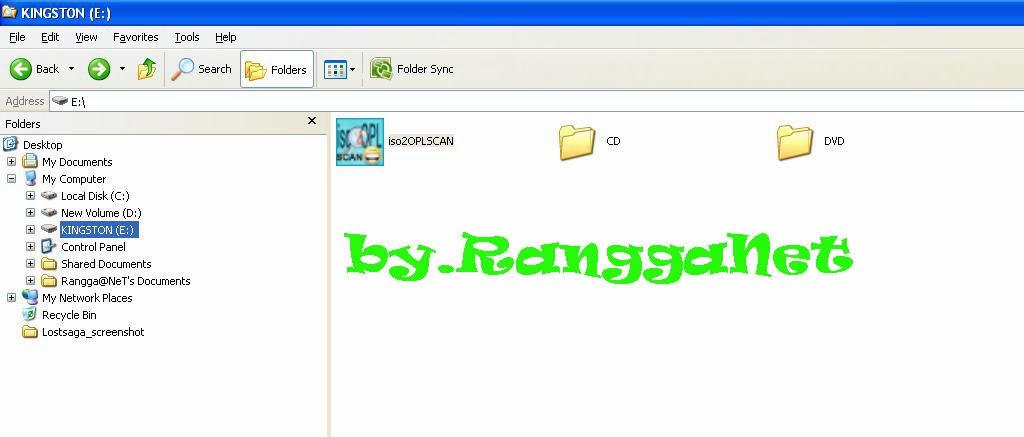 Rangga.Net: Cara Mengisi Game PS2 ke Flashdisk / Harddisk