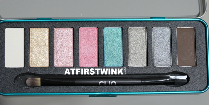 Clio All That Eye Styler Kit 1 - Lie on the beach shades and brush