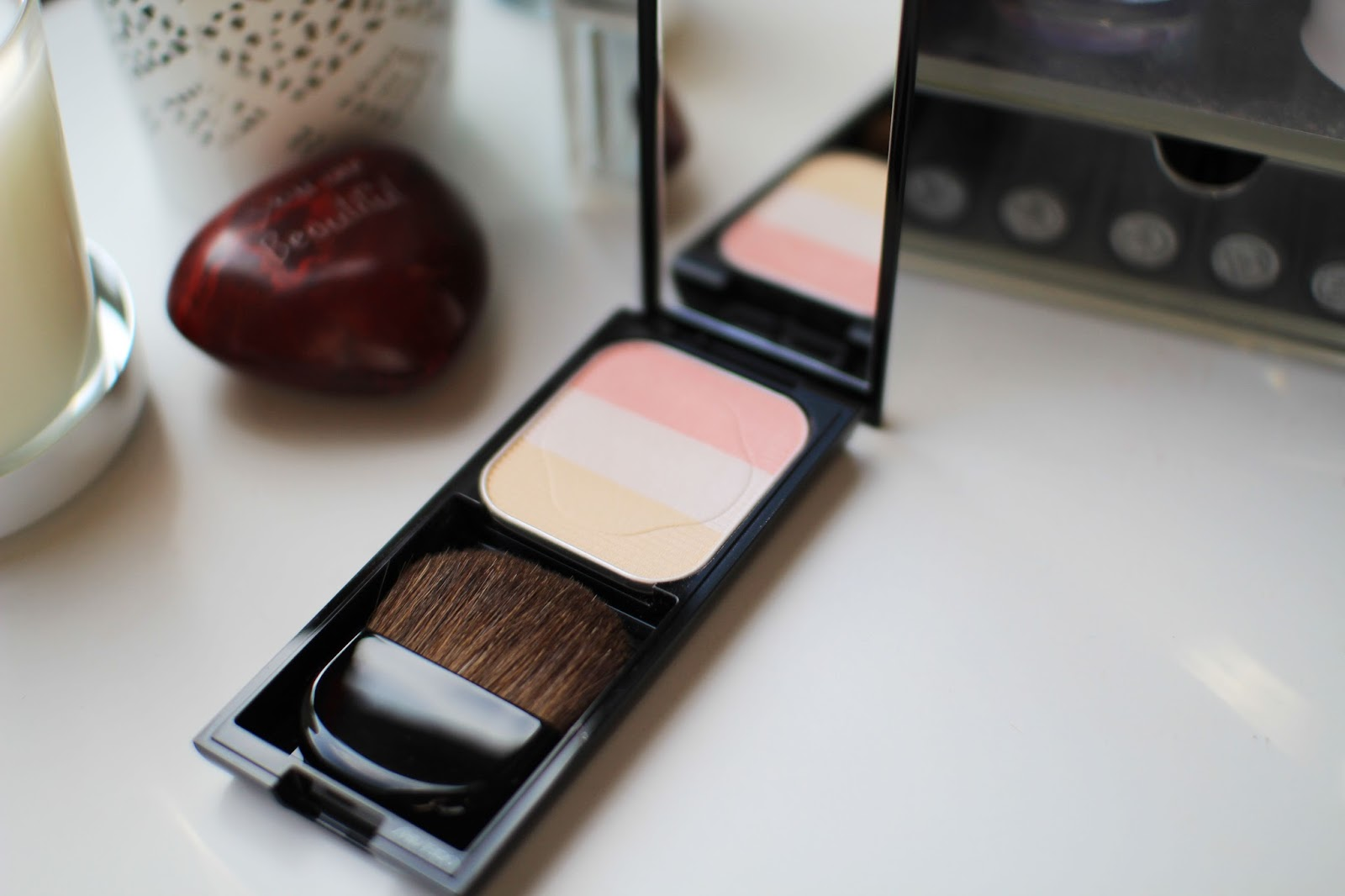 The Shiseido Trio Enhancing Blush