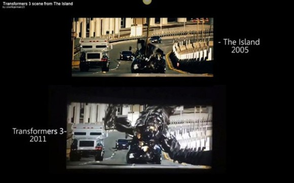 Transformers 3 samples The Island scene 1