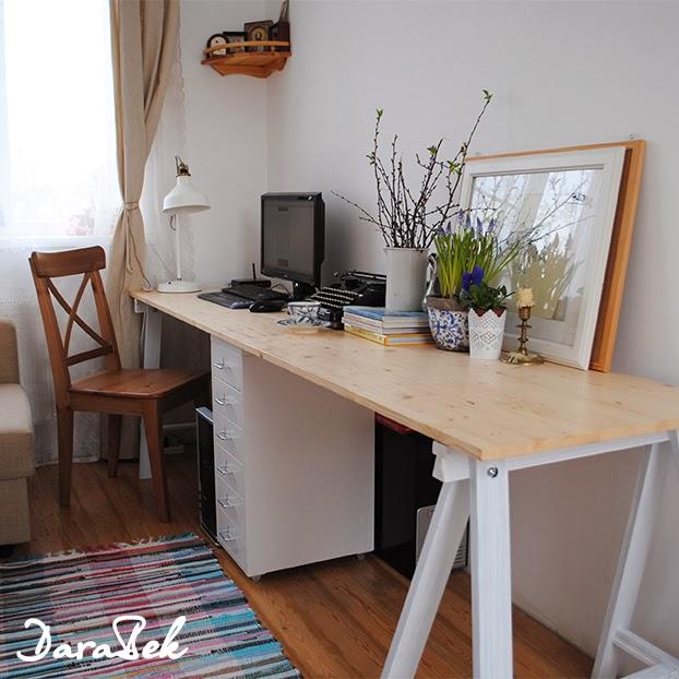 Стол письменный из мебельных щитов своими руками