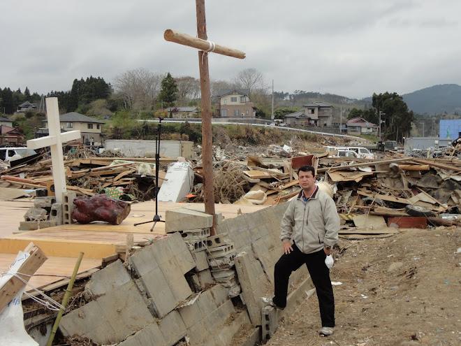 Igreja A D destruida pelo tsunami