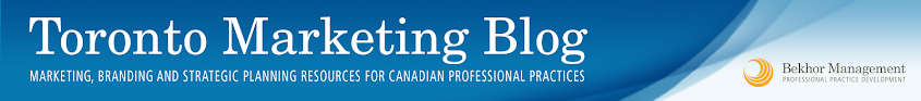Toronto Marketing Blog: Published by Bekhor Management - Professional Practice Development