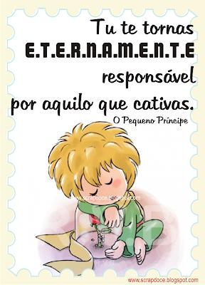 """Foto Mensagem de Amizade/Amor/Frase do livro """"O Pequeno Príncipe"""" para Compartilhar no Facebook"""