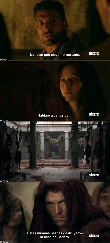 Spartacus Vengeance - Temporada 2 [HDTV] [Sub. Español]