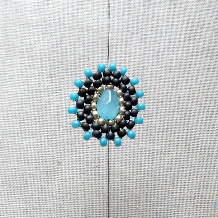Love this free tutorial - make Miguel Ases style beaded components.  DIY