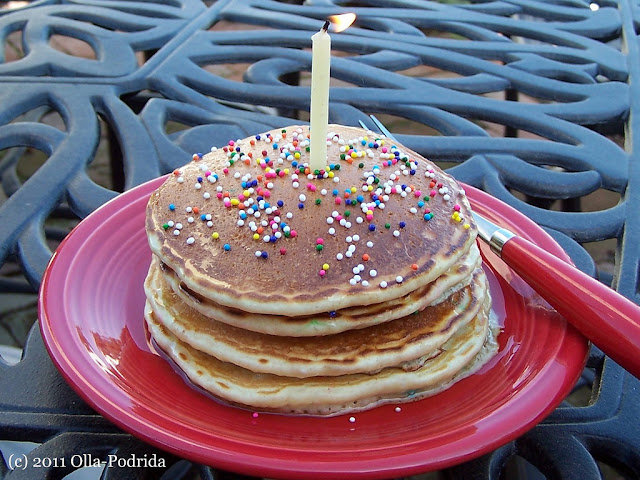 Pancakes Made With Yellow Cake Mix
