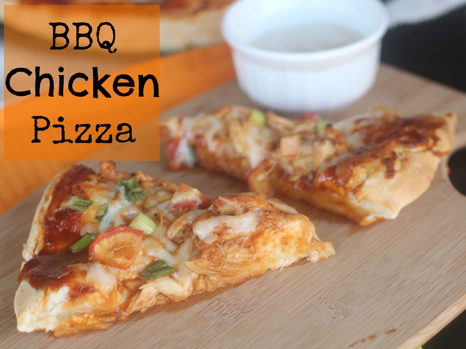 The Unsophisticated Kitchen: BBQ Chicken Pizza