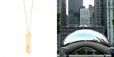 City Love - Chicago - Gorjana necklace