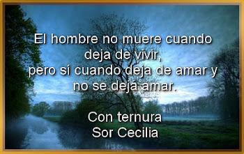 Gracias Sor Cecilia¡¡¡
