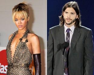 Rihanna Ashton Kutcher
