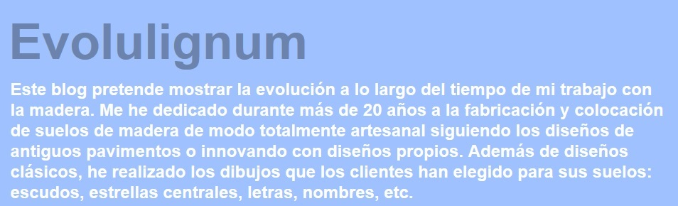 Evolulignum