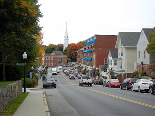 Downtown Camden, Maine