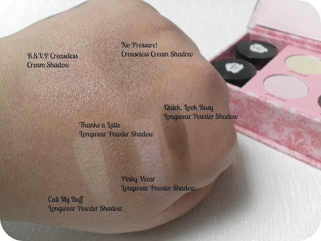 A picture of Benefit Easiest Nudes Ever World Famous Neutrals Kit