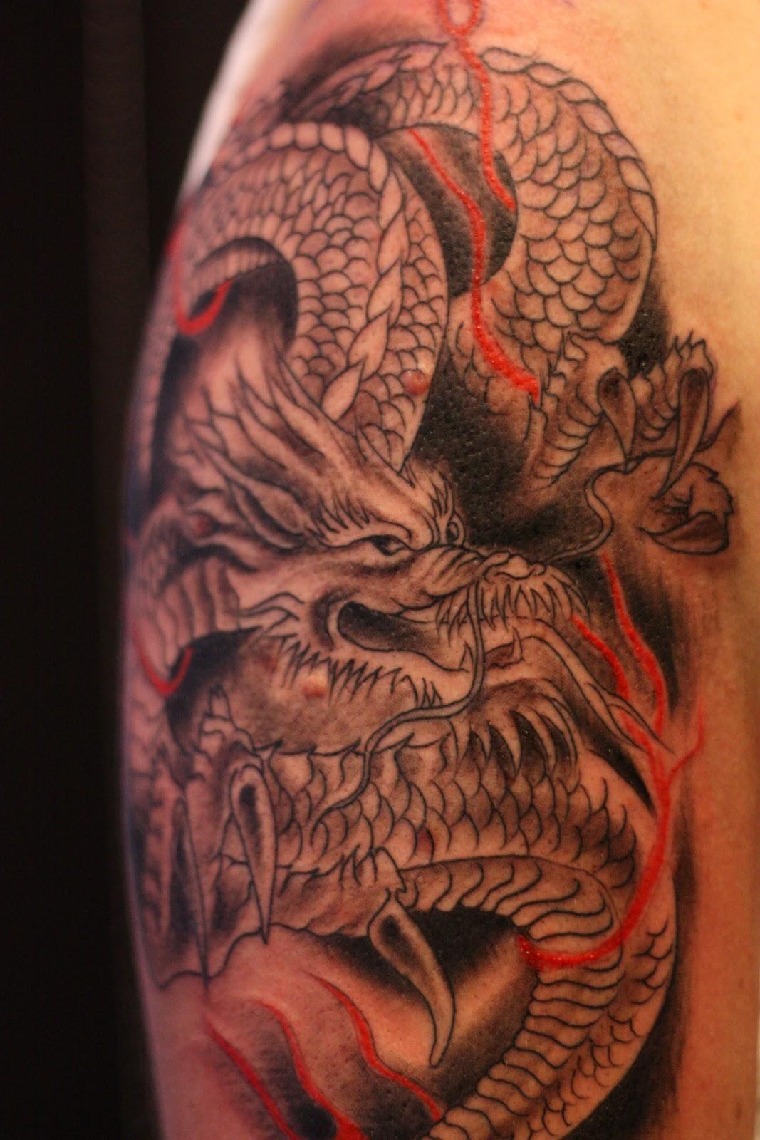 Ink Tattoo Dragon Tattoo