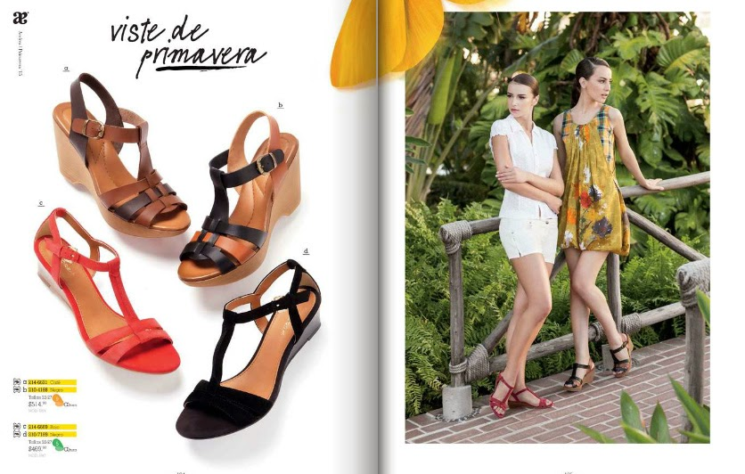 Primavera Verano as well Catalogo Andrea 2015 Primavera Sandalias together with Mujer Primavera Verano 2017 together with Calzado Velez additionally Ropa Por Catalogo. on calzado andrea por catalogo