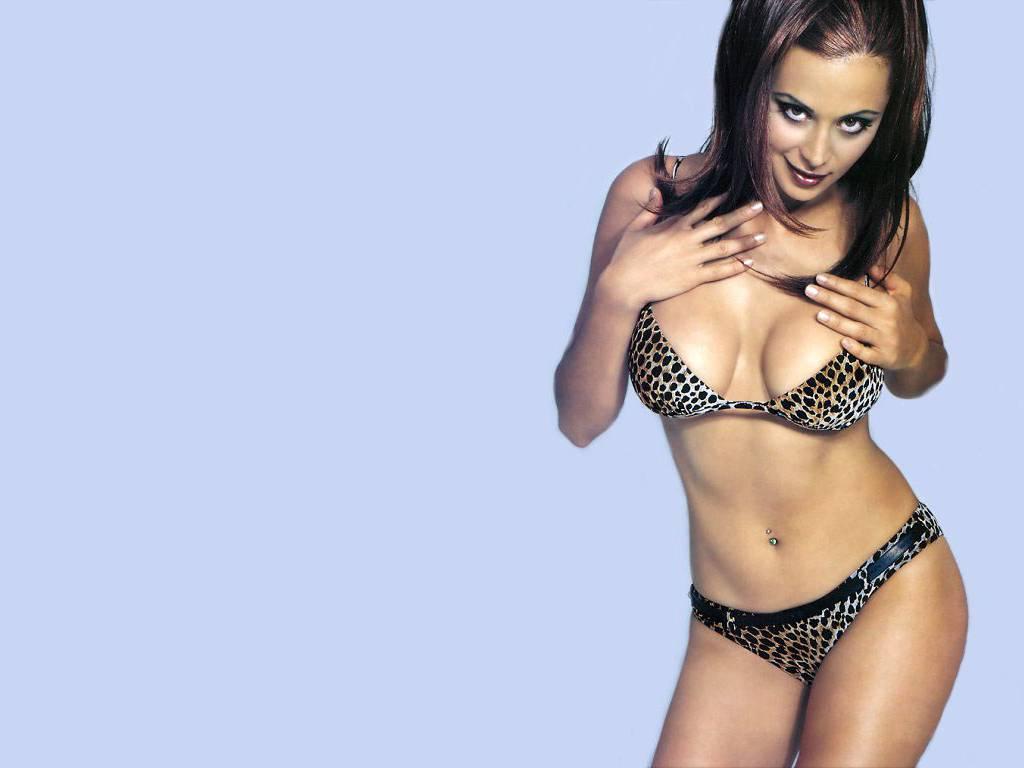 Catherine bell bikini