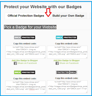 DMCA ,Official ,Protection Badge,How to Pick,blogger,website