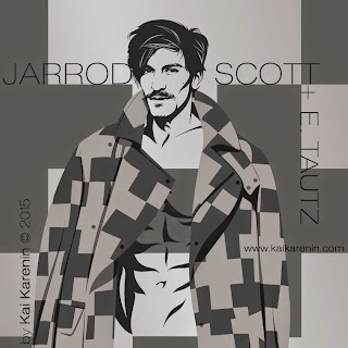 Jarrod Scott by Kai Karenin, vector illustration