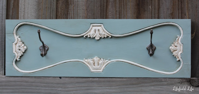 French style hook rack by Lilyfield Life