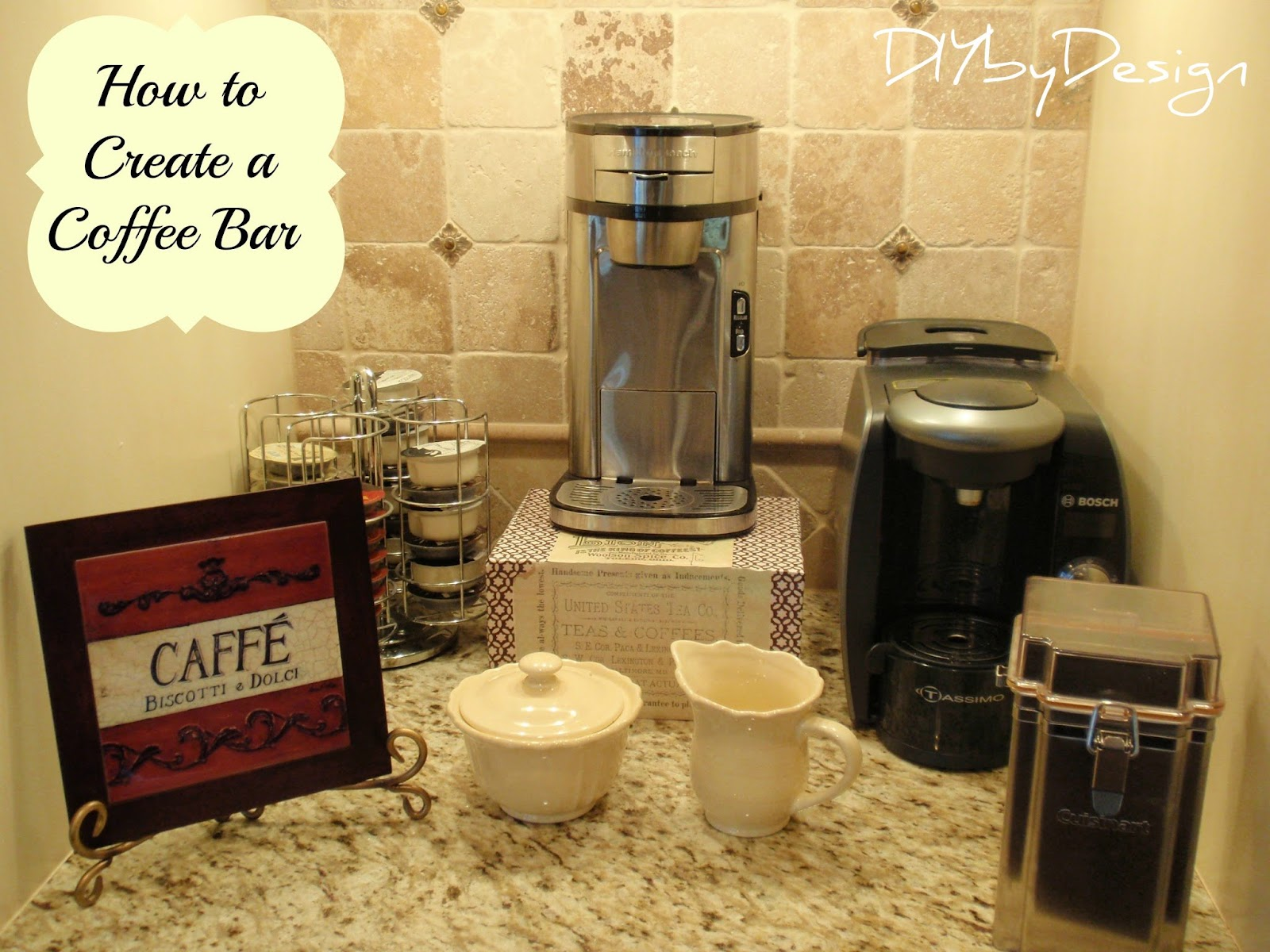 Diy By Design How To Create A Coffee Bar