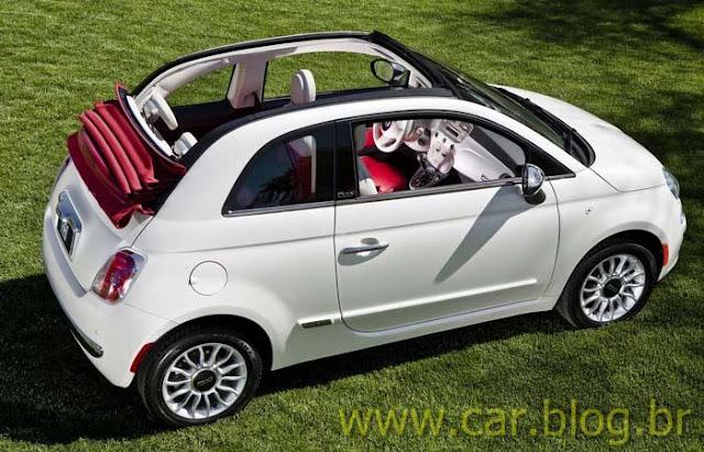 Novo Fiat 500 2012 - teto-solar