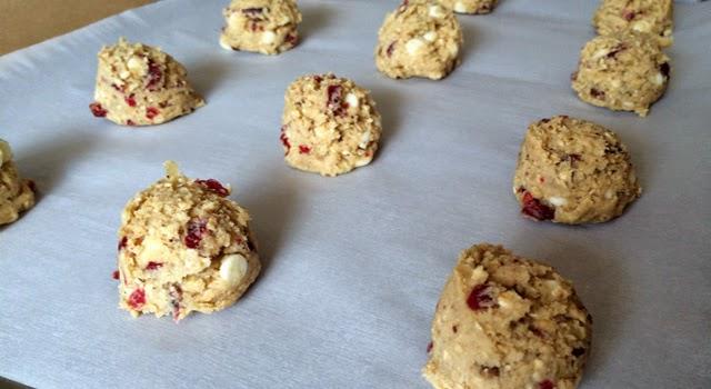 Cookies de arandanos paso 8