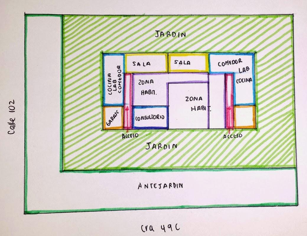 arquitectura universidad del norte zonificaci n casa