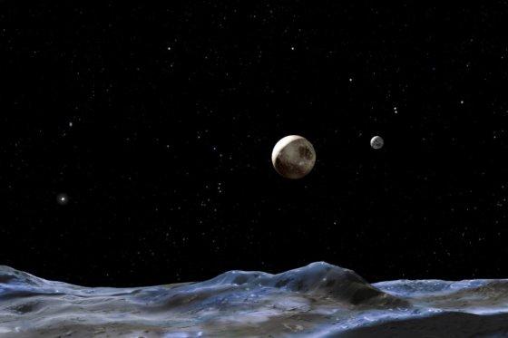 Nuevas informaciones de Plutón.