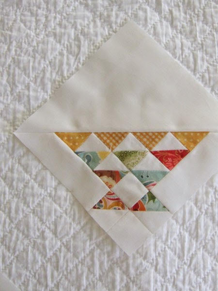 Tiny basket quilt