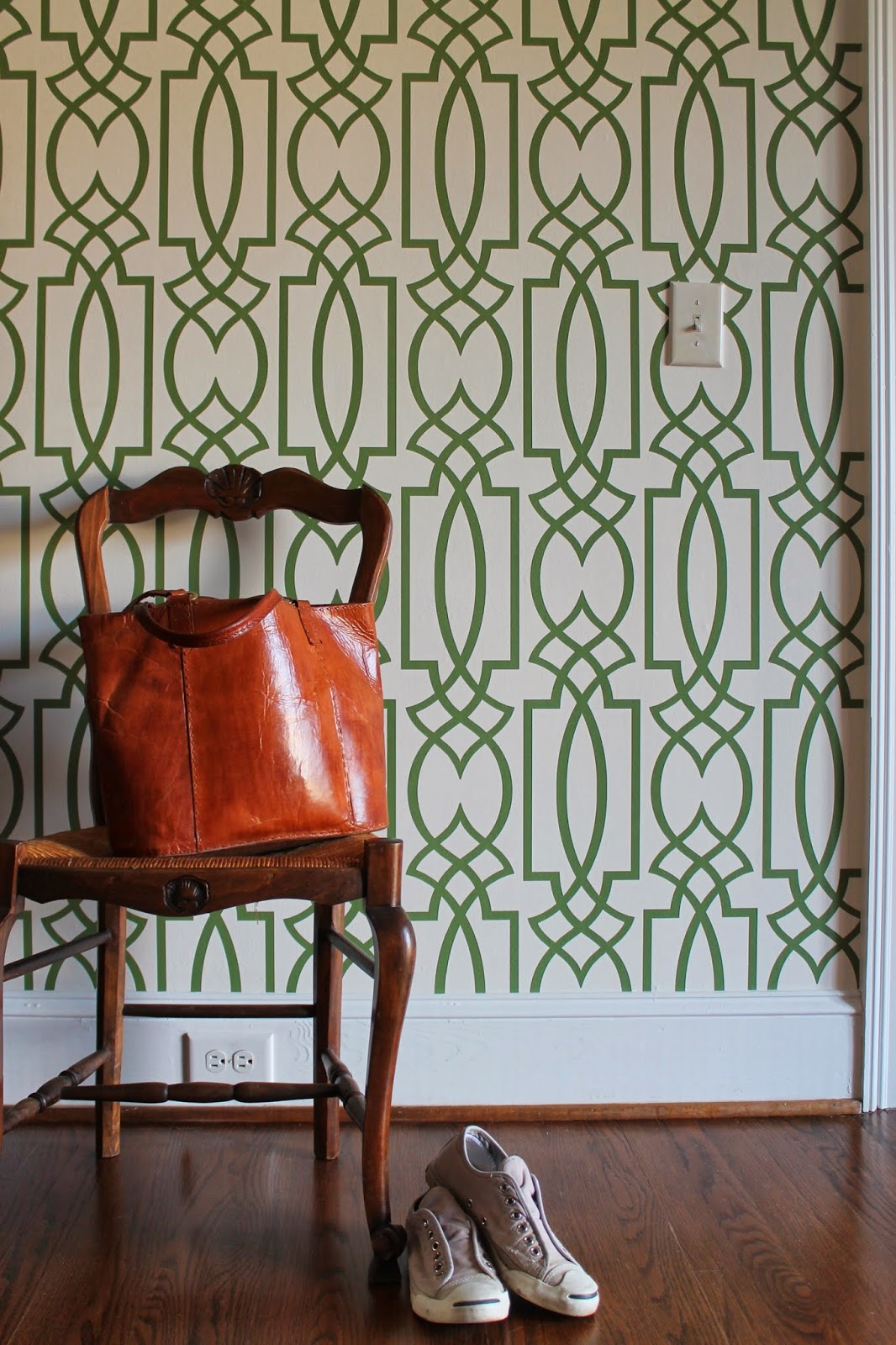 Designing Domesticity: Wallpaper Lessons Learned and Musical Rugs