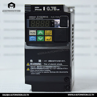 INVERTER  Omron Model:3G3MX2-A2007