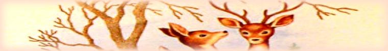 Deer banner