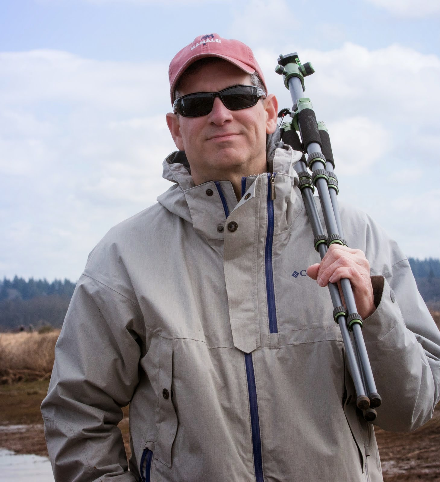 Keith, my husband, birding partner, and a man with a great eye!