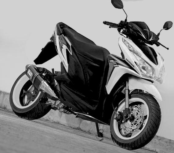 Modifikasi Honda Vario 125 PGM-FI 2012