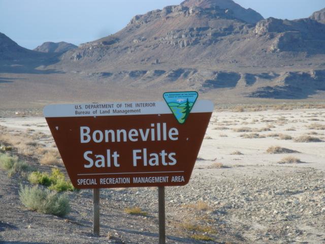 Top Of The Arch Bonneville Salt Flats Great Salt Lake Desert Utah