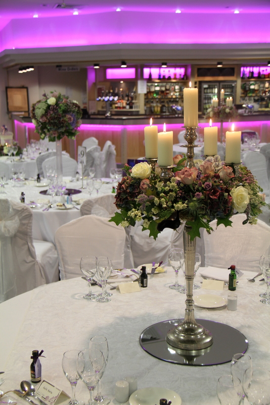 A Sneaky Peek At Victoria Amp Matts Autumn Purple Wedding