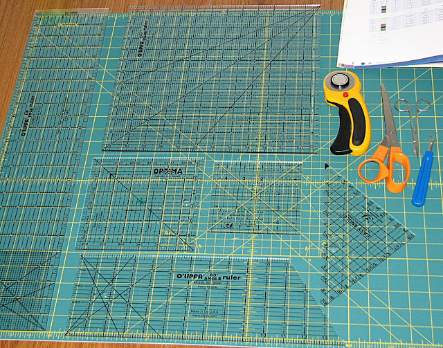 how to use the square ruler