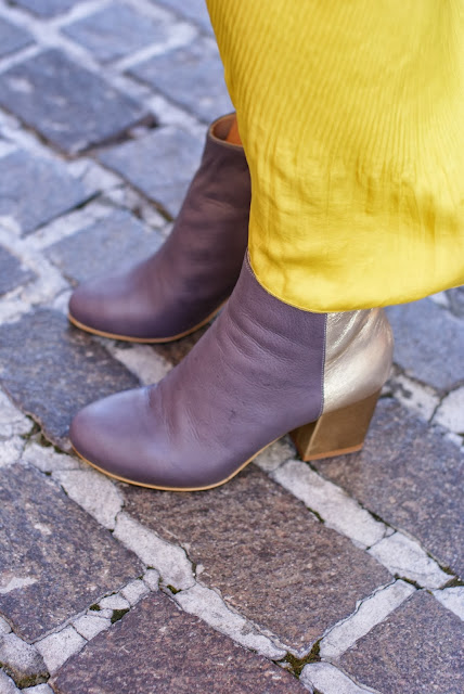 Combo boots, bicolor ankle boots, Fashion and Cookies, fashion blogger
