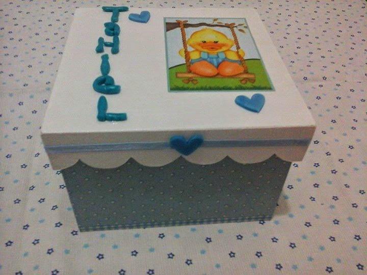 Souvenirs nacimientos ideas deco fiestas infantiles - Cajas infantiles decoradas ...