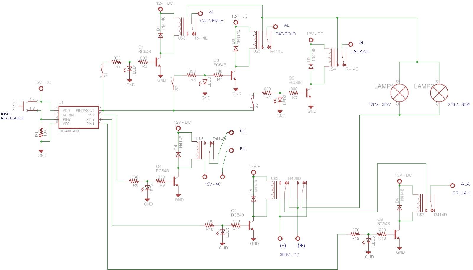 lu5hjf   circuito reactivador de t r c