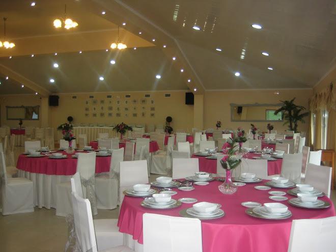 O salão de eventos