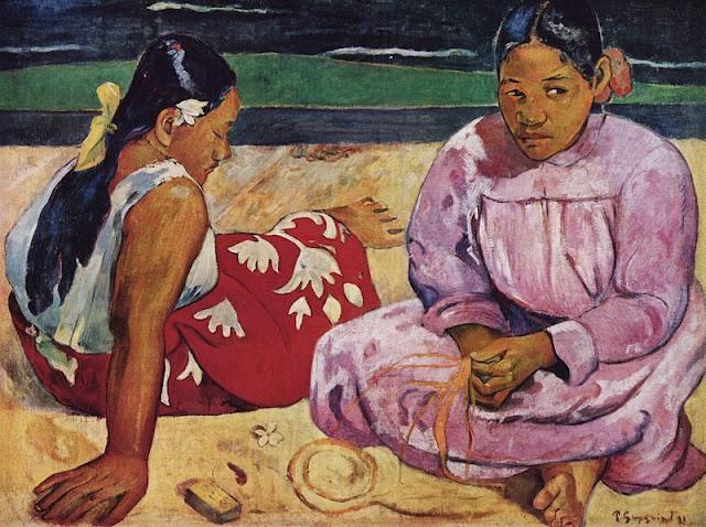 Femmes de Tahití