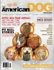 See our ad in American Dog Mag Winter Issue