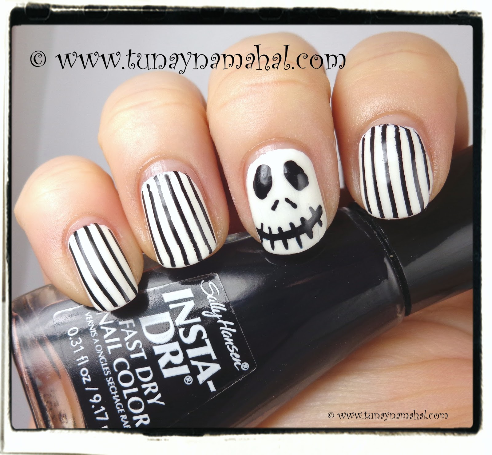 Jack Skellington Nails & Pumpkin Everything! | Tunay Na Mahal